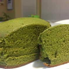 """Green Tea Cake 