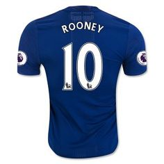 Manchester United 16-17 Cheap Away Soccer Shirt #10 ROONEY [E512]