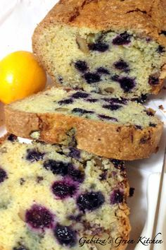 Best Blueberry Orange Bread With Walnuts Romanian Food, Green Kitchen, Ground Beef, 4th Of July, Banana Bread, Blueberry, Muffin, Spices, Food And Drink