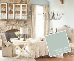 March-April 2012. Our team of stylists has chosen paint colors that are as close to the actual wall colors as we could find.