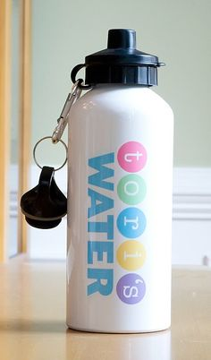 Personalized Water Bottle (perfect for Back to School!)