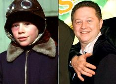 """A Christmas Story - """"Then and Now"""" photo album."""