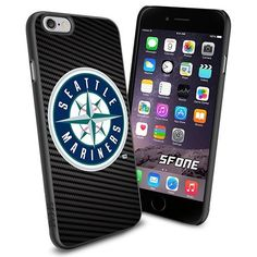 Seattle Mariners MLB Carbon Logo WADE5857 Baseball iPhone 6 4.7 inch Case Protection Black Rubber Cover Protector WADE CASE http://www.amazon.com/dp/B013XI8GLK/ref=cm_sw_r_pi_dp_cnyFwb07V8BZK