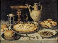 """Clara Peeters. """"Mesa"""" (1610 - 1615)"""