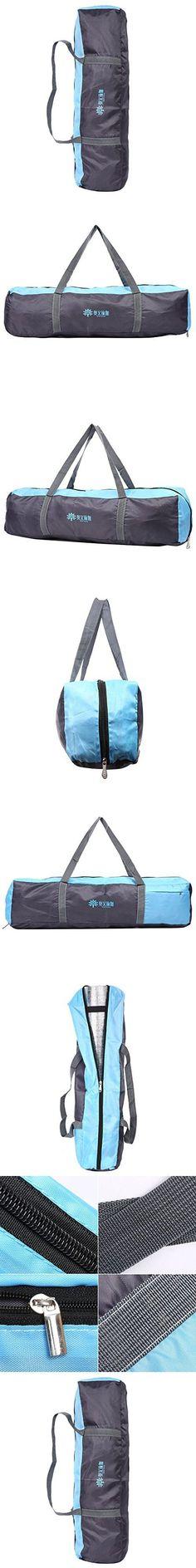 Eshow Lightweight Yoga Backpack Durable Organic Yoga Mat Bag Yoga Tote Bag Blue