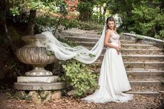 Dimitra in her CHANTAL wedding dress. She looks as if she came out of a fairy tale 😍 Coming Out, Fairy Tales, Brides, Wedding Dresses, Pretty, Outdoor, Instagram, Going Out, Bride Dresses