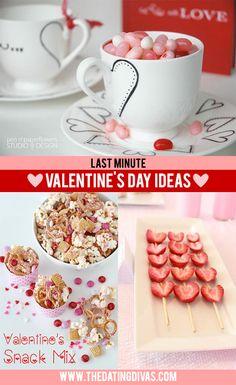 25 Last Minute Valentine's Day Ideas- these are fun!