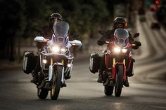 Get more with your new Honda Africa Twin
