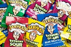 What did your childhood taste like? Sour Warheads were the lollies that made you dare your peers to put as many in their mouth as they could. What Is Halloween, Halloween Candy, 90s Childhood, Childhood Memories, Childhood Games, 90s Food, Sour Candy, 30th Birthday Parties, 30th Party
