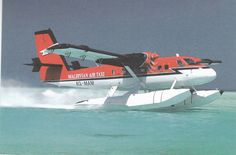 Maldivian Air Taxi DH6 Twin Otter / Floats