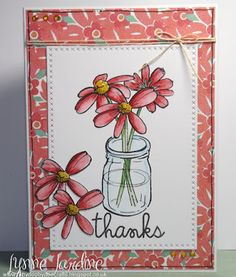 Ruby-Dooby-Doo Crafts: Thank You flowers