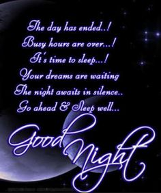 *    *   *    *    *   *     *    *   *    *    * *    *    *   *   *    *        *+*Goodnight*+* *   *   *   *    *   *    *    *  *    *   *   * *   *   *   *   *   * @Cristal JohnZ
