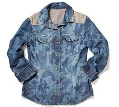 Vicunha sugere lavagens para camisas jeans + laser camuflado!!! ;)
