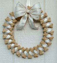 Dog Bone Wreath!! etsy retail $35