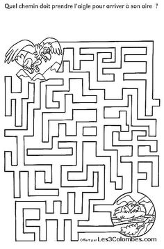 labyrinthe a imprimer 36