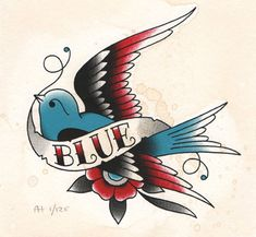 Angelique Houtkamp blue bird                                                                                                                                                                                 More
