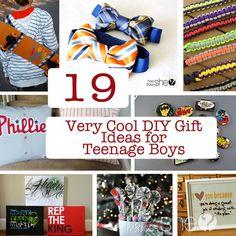 19 Very Cool DIY Gift Ideas for Teenage Boys #howdoesshe #Christmas howdoesshe.com