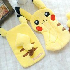 Kawaii Pikachu Plush Phone Cover/Zipper bag CP165011