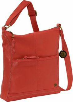 """This crossbody bag is made from a blend of leather and polyurethane and features a top zipper closure, a front outside zippered pocket, a back outside slit pocket, a cotton lining with two multi-function pockets and a zippered back wall pocket, and an adjustable shoulder strap. The suggested cleaning and care instructions are to clean with a water-based leather cleaner and moisturizer and use a protective spray to protect the leather surface. Dimensions: 11"""" x 1.5"""" x 11.25"""" Drop Length: Drop…"""