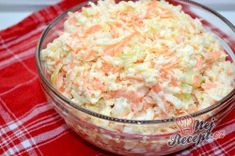Super tasty cabbage and carrot salad like from the restaurant - Eintöpfe und Suppen - Travel & Restaurants Benefits Of Potatoes, Salad Sauce, Carrot Salad, Vegetable Side Dishes, Party Snacks, Low Carb Recipes, Salad Recipes, Potato Salad, Salads