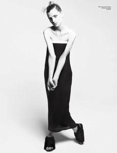 Wonderland Magazine April/May 2013 Model: Maria Loks