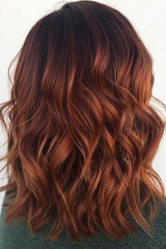 Hair ombre brown red roots 20 Super ideas - All For Hair Color Trending Brown Ombre Hair, Brown Hair Balayage, Brown Blonde Hair, Light Brown Hair, Hair Color Balayage, Brown Hair Colors, Copper Highlights On Brown Hair, Red Colored Hair, Red Hair With Lowlights