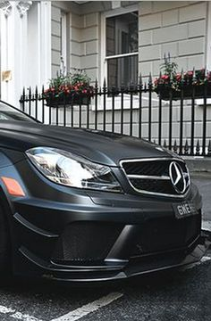 Want to be blown away? Look no further.... Mercedes-Benz SL65 AMG Black Series RennTech R2 #autoawesome #spon