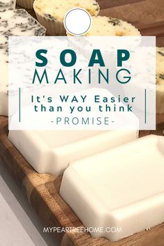 This is amazing! I never knew how EASY it is to make soap! Definitely trying this for some easy homemade gifts. Her daughter even helped. Much simpler than I thought it would be.