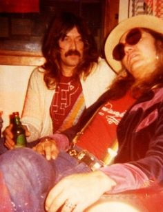 Jon Lord & Tommy Bolin chilling out