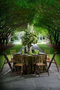 Lovely spot for a ladies luncheon.