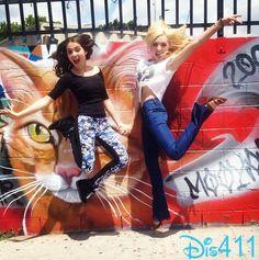 Peyton List With Her Friend Shooting Teen Vogue's Besties May 6, 2014