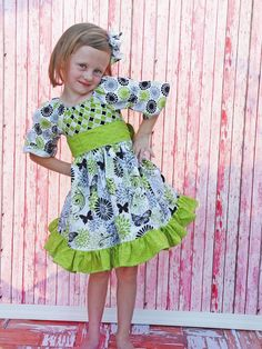 Boutique Girls Party Dress Birthday Dress by divagirlboutique Dolly Fashion, Baby Girl Fashion, Kids Fashion, Girls Boutique, Boutique Dresses, Boutique Clothing, Girls Party Dress, Birthday Dresses, Nice Dresses