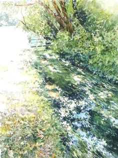 Artist Abe Toshiyuki is a watercolor artist from Japan. He was born in Sakata city in His watercolor paintings are noted for it. Watercolor Trees, Watercolor Artists, Watercolor Landscape, Watercolor And Ink, Watercolor Illustration, Watercolour Painting, Watercolours, Landscape Drawings, Landscape Art