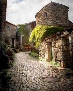 Portugal Vacation, Portugal Travel, Hidden Places, Places To Go, Travel Around The World, Around The Worlds, Stone Pavement, Portuguese Culture, Green Architecture