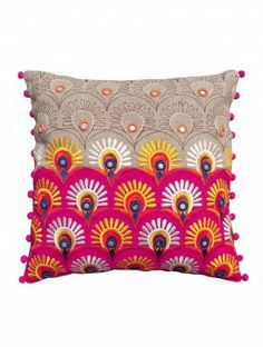 Indian Folk Kutch Cushion Cover