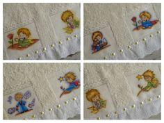 Toalha infantil pequeno príncipe:  - (01) toalha infantil tipo lavabo, 33 cm x 50 cm - Marca Karsten Casa In, excelente qualidade, ótima absorção - Acabamento sofisticado com bordado inglês e passa-fita - Pintura artesanal, feita à mão R$ 13,10