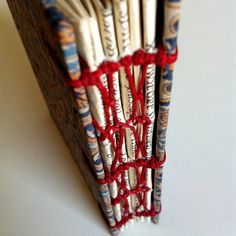 Facebook: heart-made Papermania  French binding