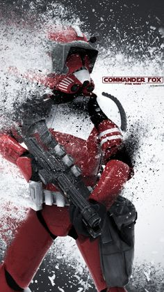 Commander Fox: A Star Wars Story by on DeviantArt - Star Wars Clones - Ideas of Star Wars Clones - Commander Fox: A Star Wars Story by on Star Wars Clone Wars, Star Wars Darth Vader, Darth Maul, Star Trek, Star Wars Pictures, Star Wars Images, Art Pictures, Star Wars Concept Art, Star Wars Fan Art