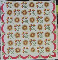 Historically Modern: Quilts, Textiles & Design: Principles of Modernism: Abstraction Old Quilts, Antique Quilts, Vintage Quilts, Mariners Compass, Day Lilies, Quilting Projects, Textile Design, Quilt Patterns, Applique