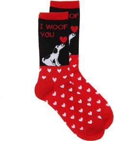 K. Bell Women's Woof You Crew Socks  #ad
