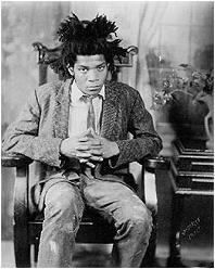 Photo of Neo-Expressionist painter, Jean-Michel Basquiat taken by the late, famous photographer, James Van Der Zee. Jean Michel Basquiat, James Van Der Zee, Vintage Soul, Vintage Black, Portraits, Famous Photographers, African American History, Black History, Art History