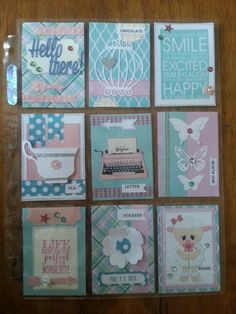 Another pocket pal letter made by AnnMarie!