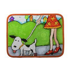Dog Walker Art Rickshaw Folia $54.95 #dogs #gifts #jamiecreates1 #zazzle