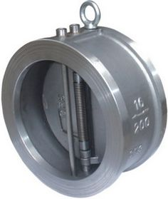 Dual Plate Check Valve, Wafer, PN16, Automatic Body