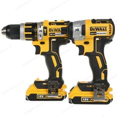 Dewalt Dck250P2-Gb 18V 5Ah Xr Bl Com Hammer Drill/Impact Driver Kit 2 is a highly durable package suitable for DIY, onsite or workshop use. Its compact and lightweight design makes it easy to carry and delivers maximum performance with longer runtimes. | L047842