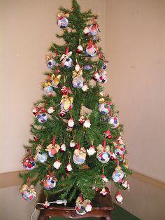 Belos e Criativos Fuxicos no Natal | Ideias e Dicas