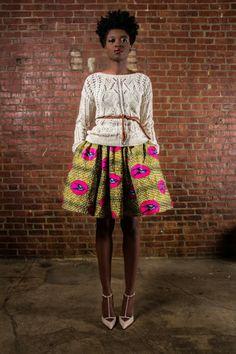 African print -skirt- modele de pagne africain