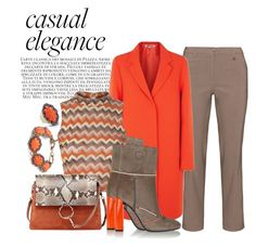 """""""Casual Style with Elegance"""" by penelopepoppins ❤ liked on Polyvore featuring KJ Brand, McQ by Alexander McQueen, Glamorous, Chloé, Fendi, women's clothing, women, female, woman and misses"""