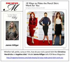Jaimie Hilfiger commentary in Fox New Magazine