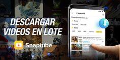 La aplicación oficial permite la descarga de videos de YouTube, pero no se guardan en el teléfono. Para hacerlo así tendrás que usar Snaptube...